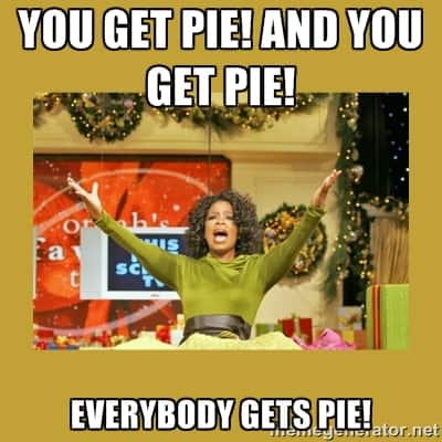 Oprah Apple Pie