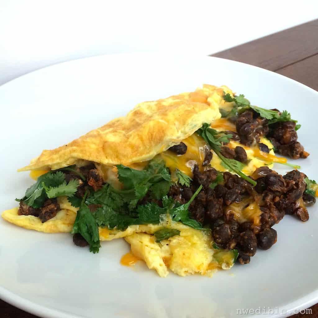 black-bean-omlette