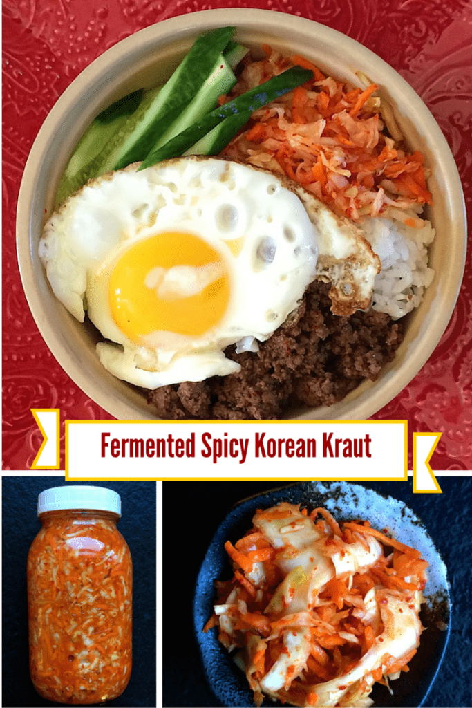 Fermented Korean Kraut