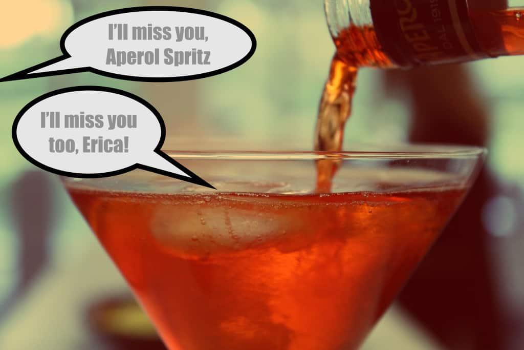 Aperol Spritz Goodbye