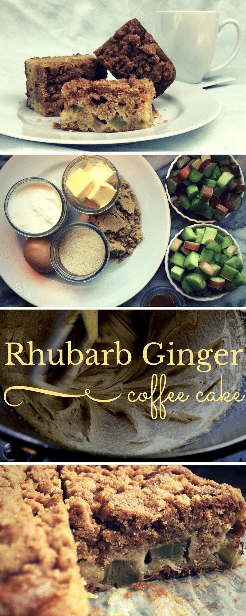 RhubarbGingerCoffecake