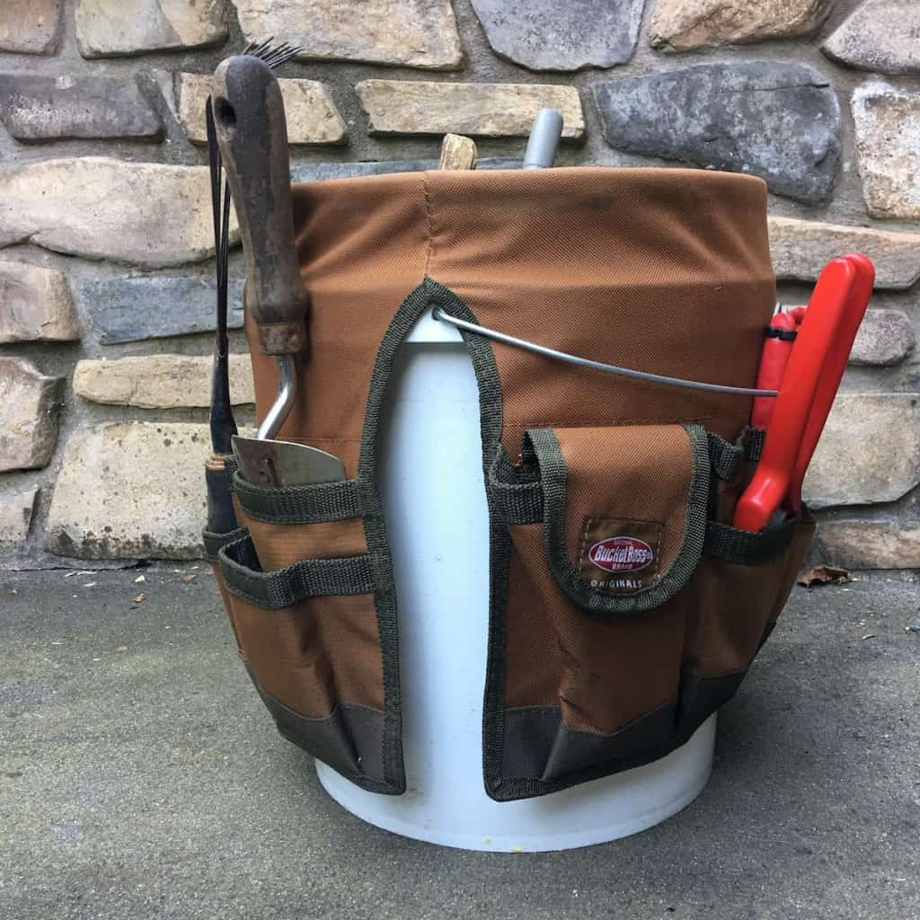 Bucket Apron Tool Storage