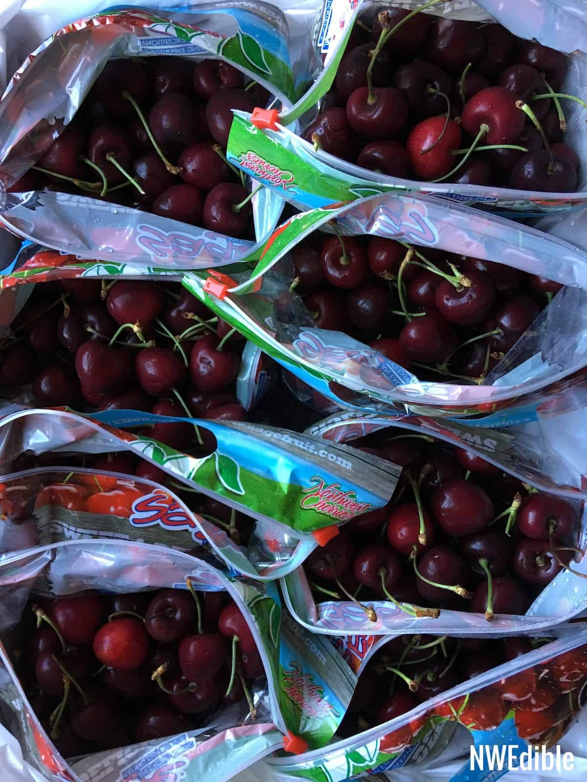 Box of cherries