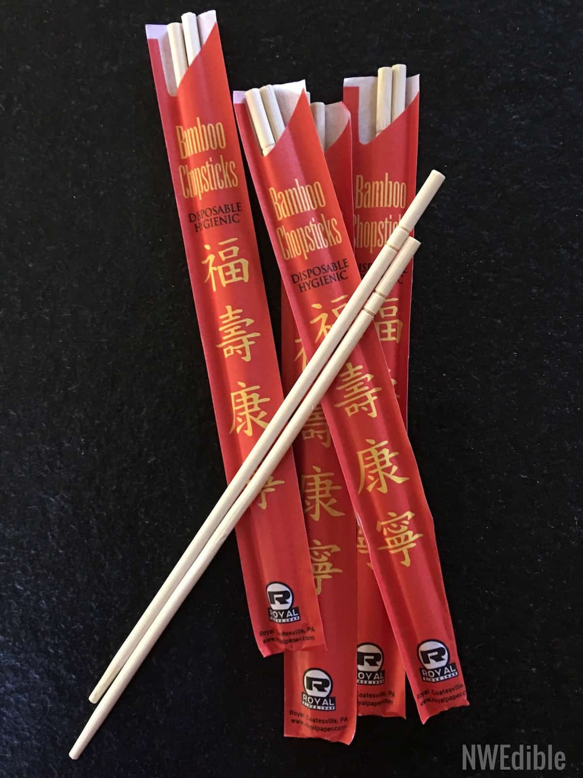 Chopsticks As Jar Bubblers