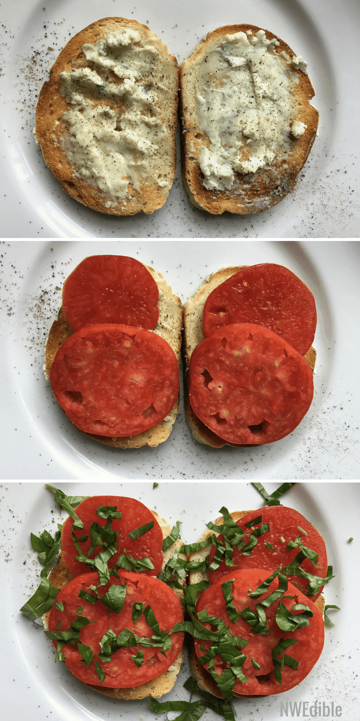 Tartine Blue Cheese Tomato