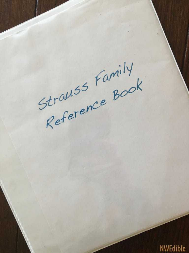 My Family Reference Book