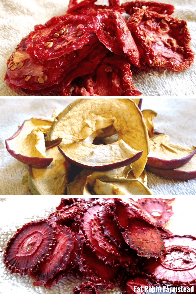 Home dried fruit