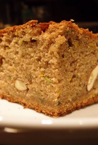 Big Batch Almond Zucchini Bread (Or, How To Use Up A Lot Zucchini After It Has Started To Irritate You)
