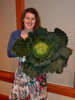 An Ode From The Savoy Cabbage Patch Girl