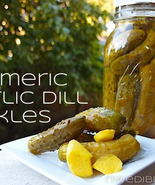 Turmeric Garlic Dill Pickles by Popular Request