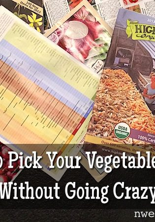 How To Pick Your Vegetable Seeds Without Going Crazy