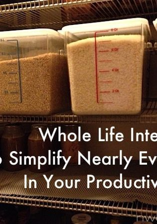 Whole Life Integration: Tips To Simplify Nearly Everything In Your Productive Home