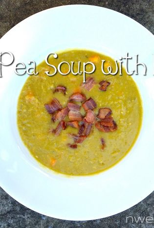 Split Pea Soup with Bacon (or, How To Eat Well For Almost No Money)