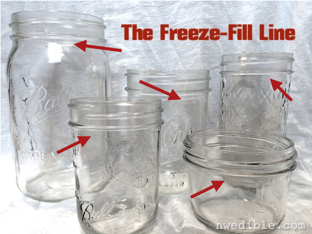 Freeze-fill line