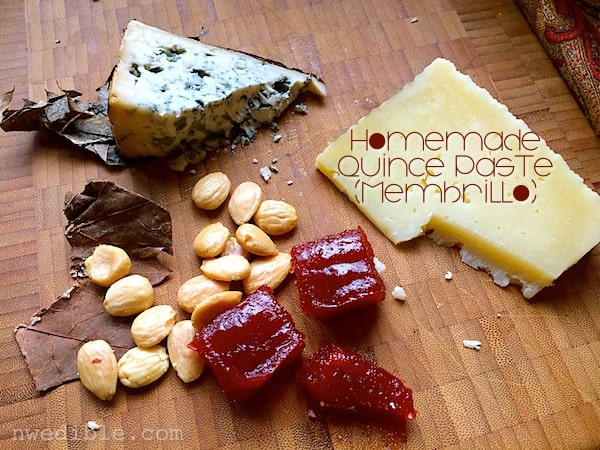Quince Paste (Membrillo)
