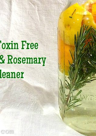 Toxin Free DIY Citrus Cleaner