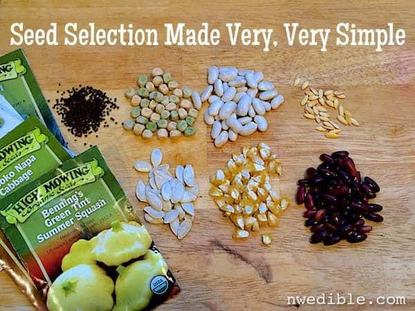Seed Selection Made Very Simple