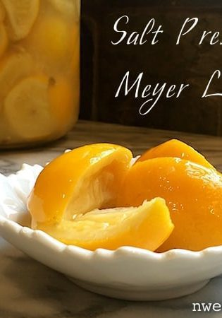 How To Make Salt Preserved Meyer Lemons (The Easy Way)