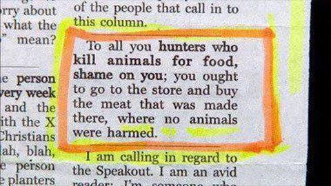 hunters vs meat eaters