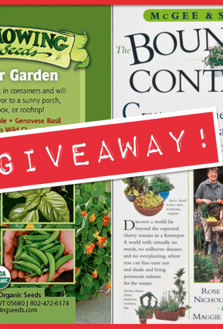 {Giveaway} The Bountiful Container + High Mowing Container Gardening Seeds