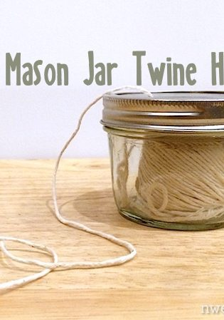 Turn A Mason Jar Into A Twine Holder With This Easy Kitchen Hack