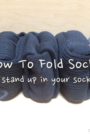 The Life Changing Magic of Folding Socks