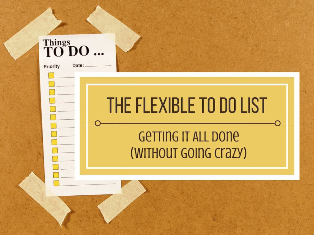 Flexible To Do List