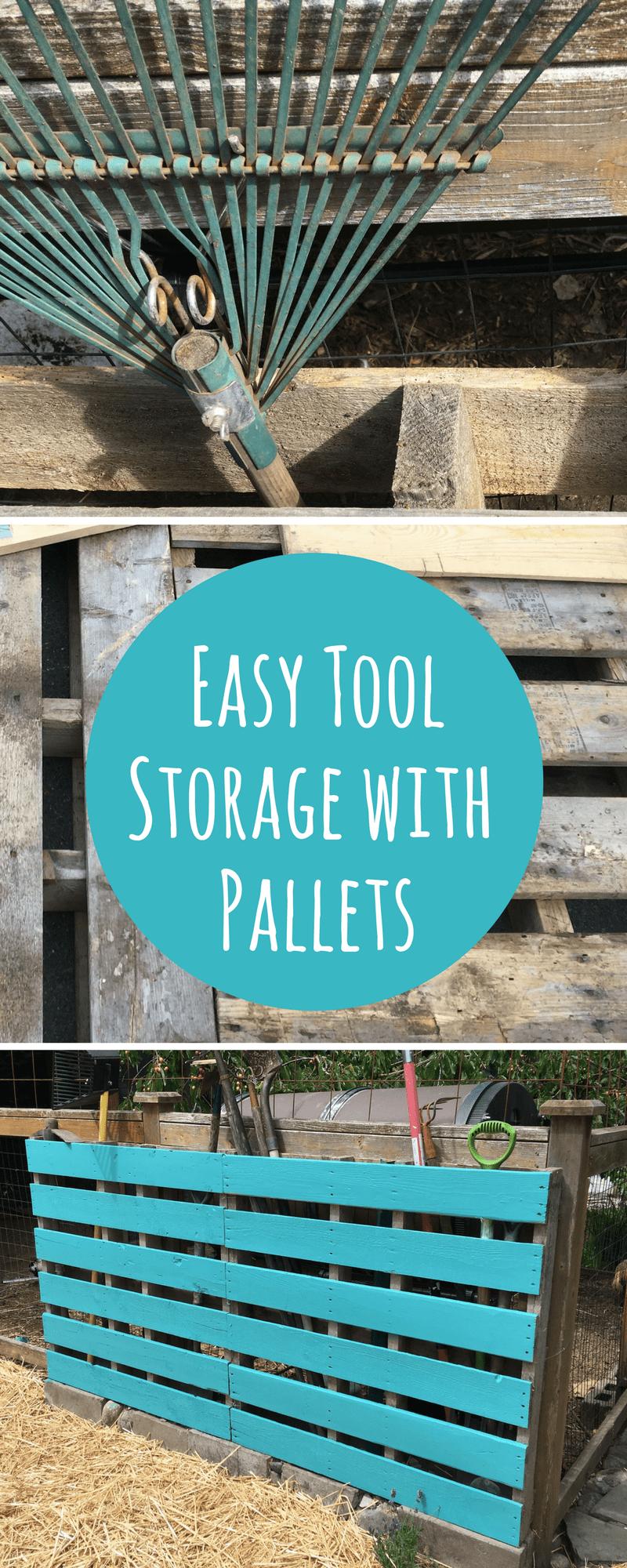 Pallet Tool Storage Pin