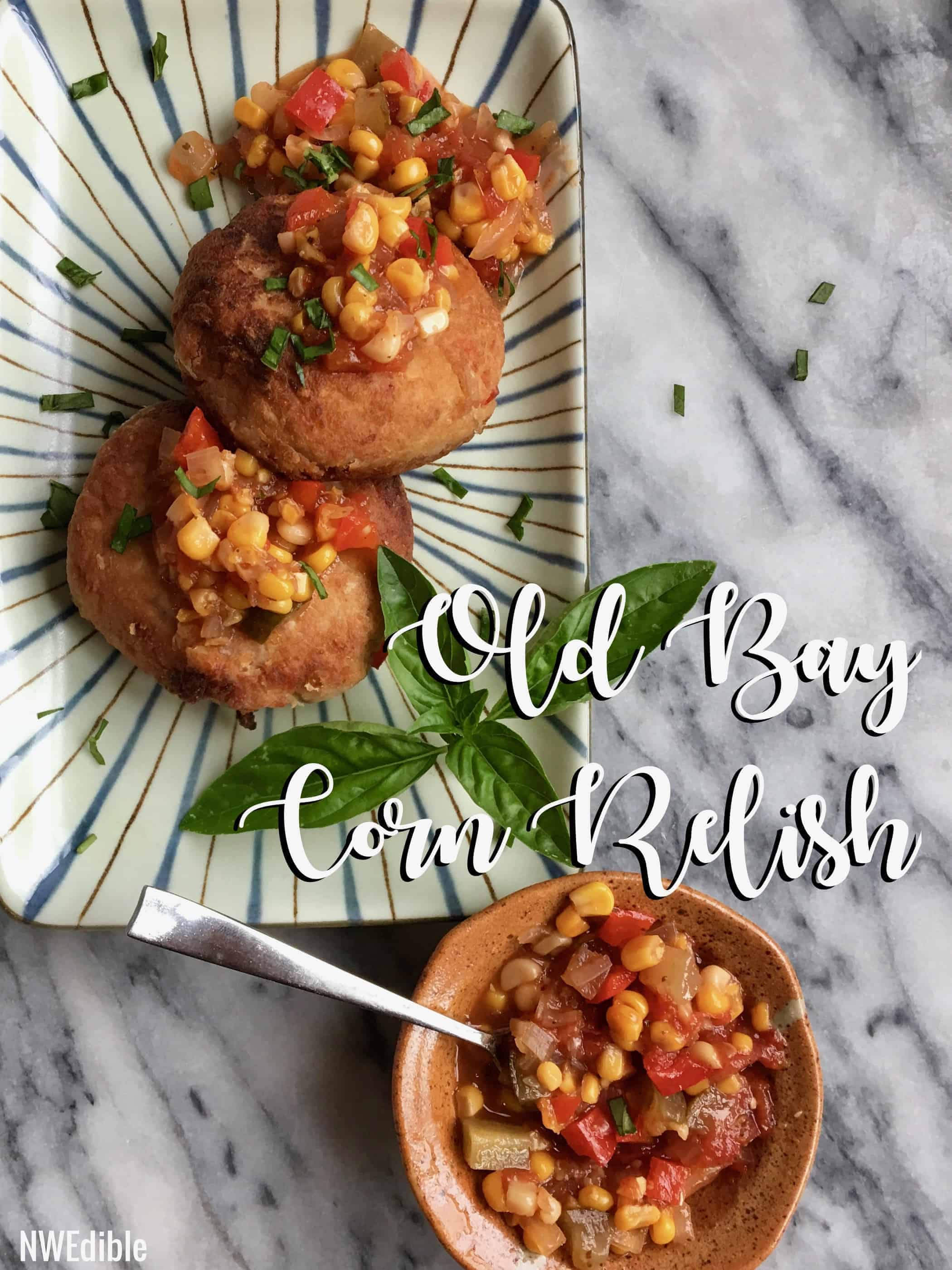 Old Bay Corn Relish Share Pin