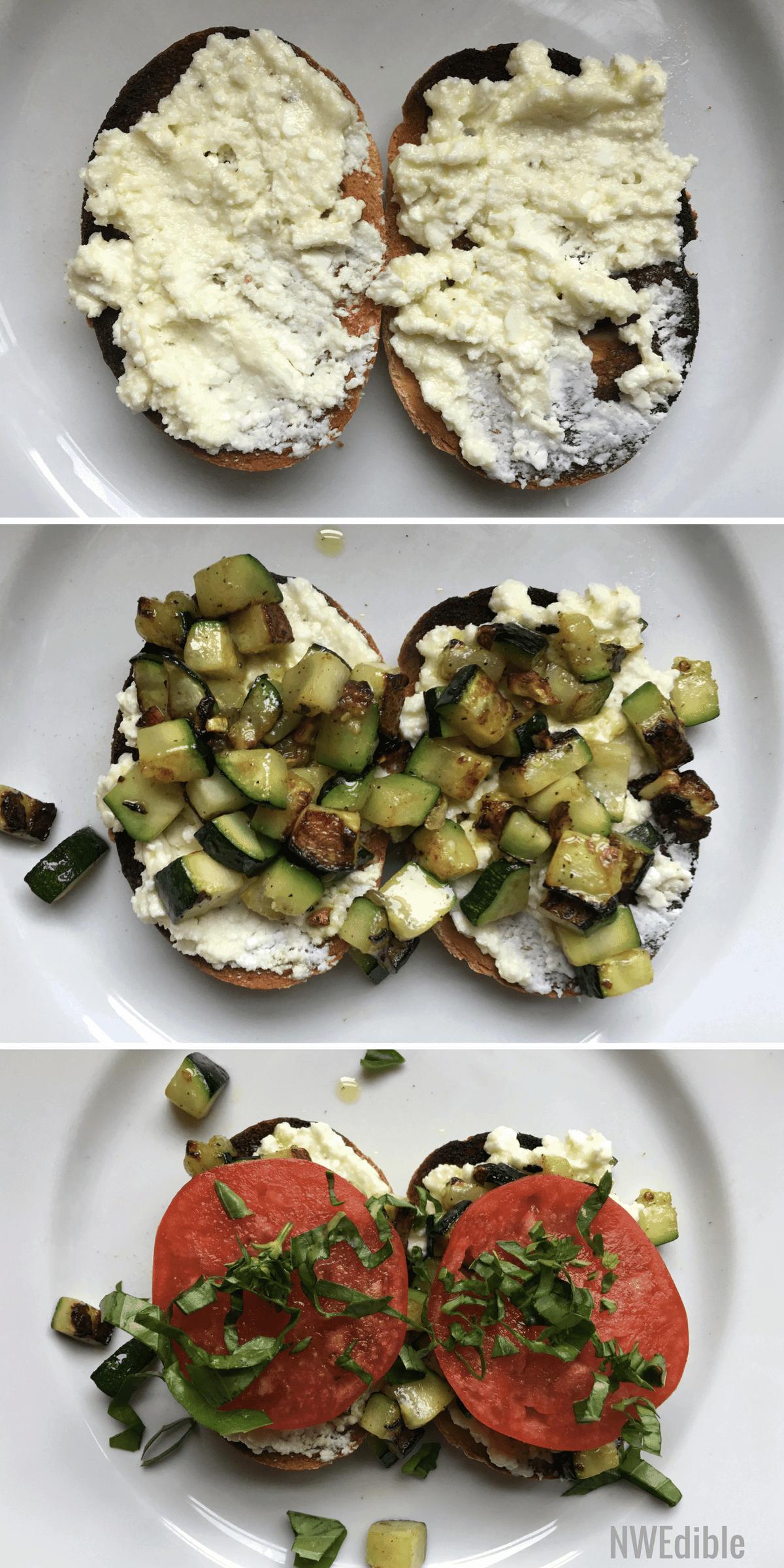 Tartine-Eggplant