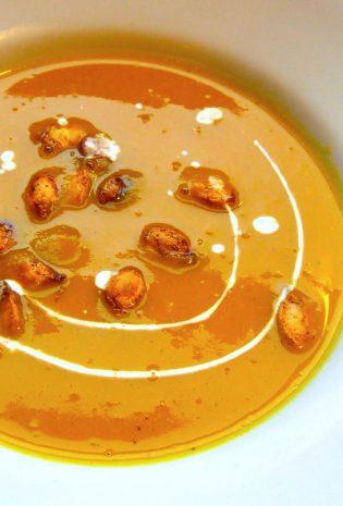 Curried Sugar Hubbard Squash Soup